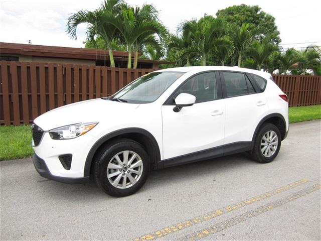 2013 MAZDA CX-5 SPORT 4DR SUV 6A white door handle color body-color exhaust tip color metallic