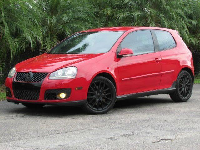 2006 VOLKSWAGEN GTI BASE NEW 2DR HATCHBACK WAUTOMAT red rear spoiler air filtration beverage c