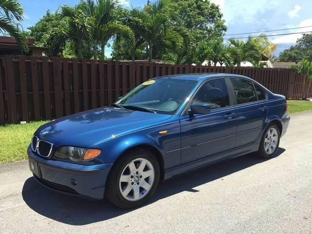 2003 BMW 3 SERIES 325I 4DR SEDAN blue front air conditioning front air conditioning automatic c