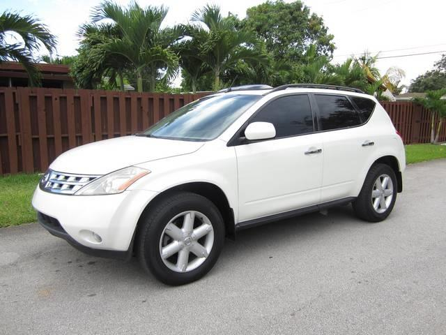 2003 NISSAN MURANO SE AWD 4DR SUV white rear spoiler front air conditioning front air condition