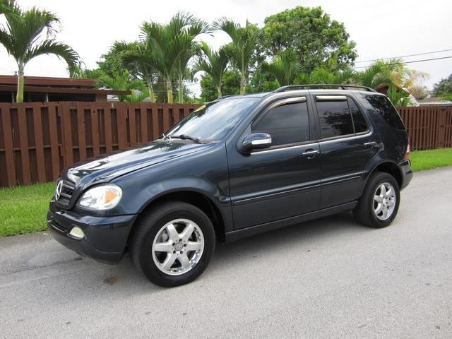 2003 MERCEDES-BENZ M-CLASS ML500 AWD 4MATIC 4DR SUV blue front air conditioning front air condit