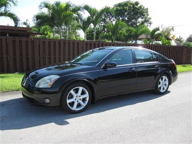 2006 NISSAN MAXIMA 35 SE 4DR SEDAN WAUTOMATIC black air filtration front air conditioning zone