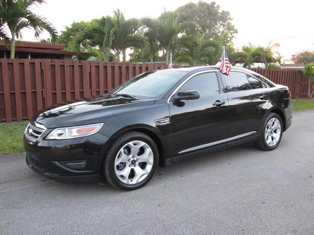 2011 FORD TAURUS SEL 4DR SEDAN black bumper color body-color door handle color body-color exha