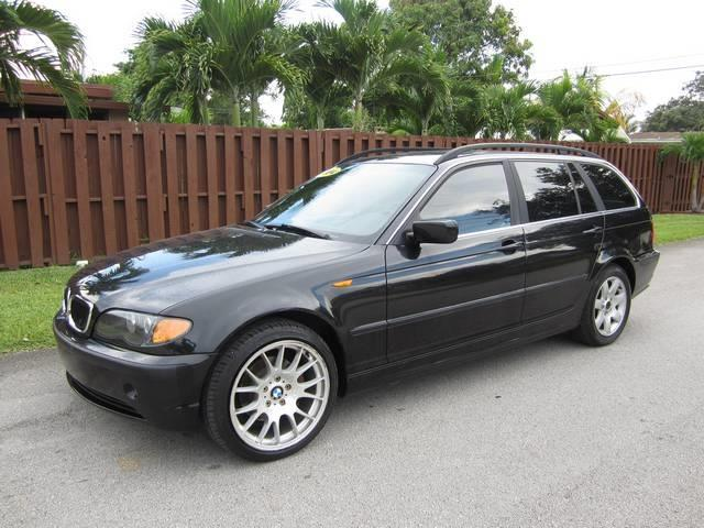 2003 BMW 3 SERIES 325XI AWD 4DR SPORT WAGON black front air conditioning front air conditioning
