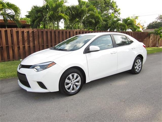 2014 TOYOTA COROLLA L 4DR SEDAN 4A white air filtration front air conditioning front air condit
