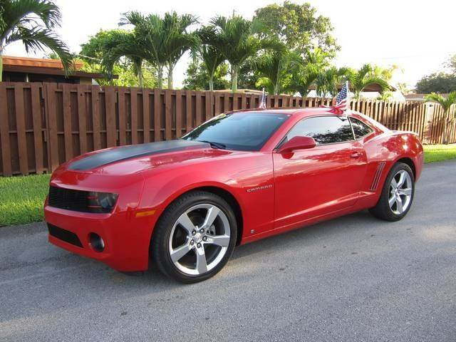 2010 CHEVROLET CAMARO LT 2DR COUPE W1LT red bumper color body-color door handle color body-co
