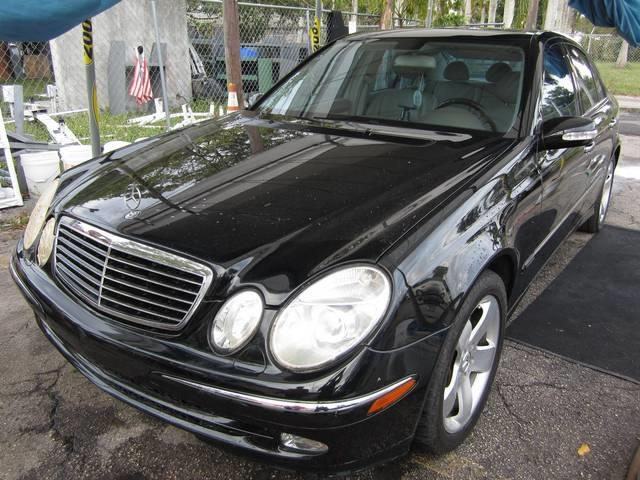 2003 MERCEDES-BENZ E-CLASS E500 4DR SEDAN black front air conditioning front air conditioning zo