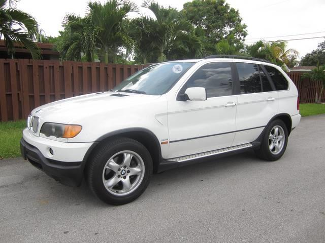 2003 BMW X5 44I AWD 4DR SUV white rear spoiler front air conditioning front air conditioning z