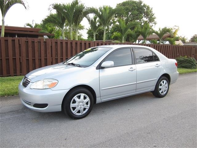 2005 TOYOTA COROLLA CE 4DR SEDAN silver front air conditioning front air conditioning zones fro