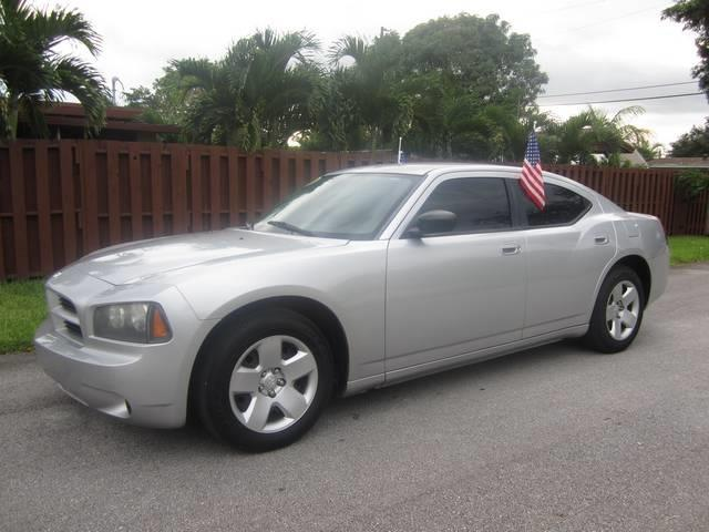 2008 DODGE CHARGER BASE 4DR SEDAN silver floor mats front floor mats rear front air condition