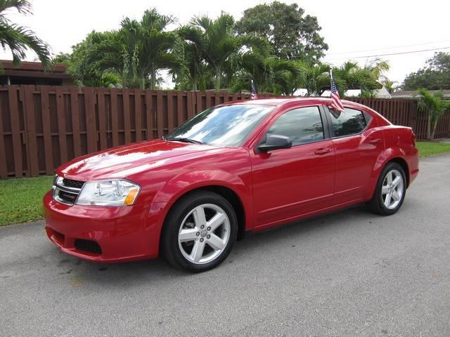 2013 DODGE AVENGER SE 4DR SEDAN red door handle color body-color front bumper color body-color