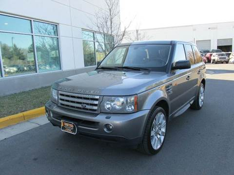 2008 Land Rover Range Rover Sport for sale in Chantilly, VA