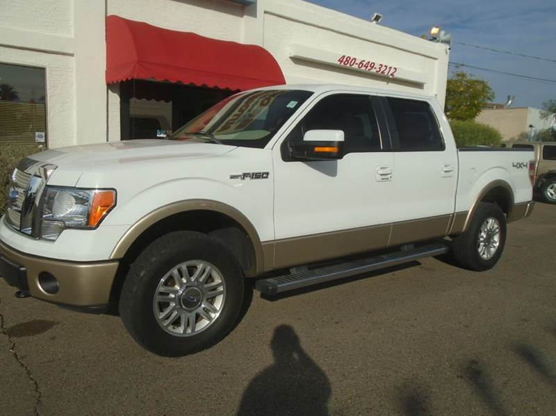 2011 ford f 150 lariat 4x4 4dr supercrew styleside 6 5 ft sb in mesa az brown brothers automotive. Black Bedroom Furniture Sets. Home Design Ideas
