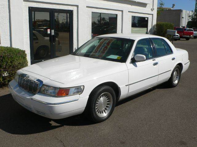 2001 MERCURY GRAND MARQUIS LS white air conditioningamfm radioanti-brake system non-abs  4-wh
