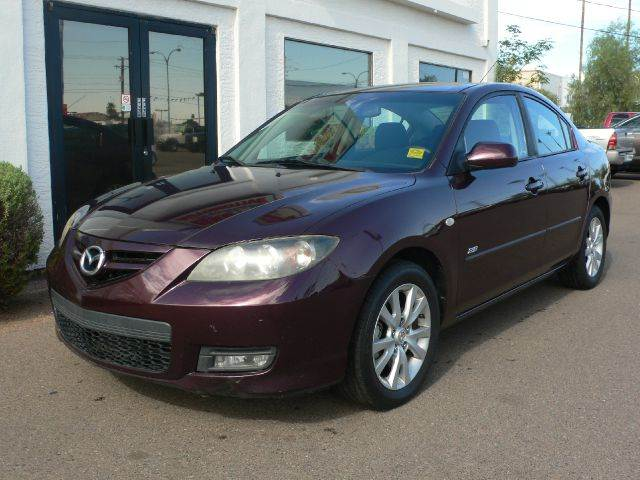 2007 MAZDA 3 S SPORT 4-DOOR purple abs brakesair conditioningalloy wheelsamfm radioanti-brake