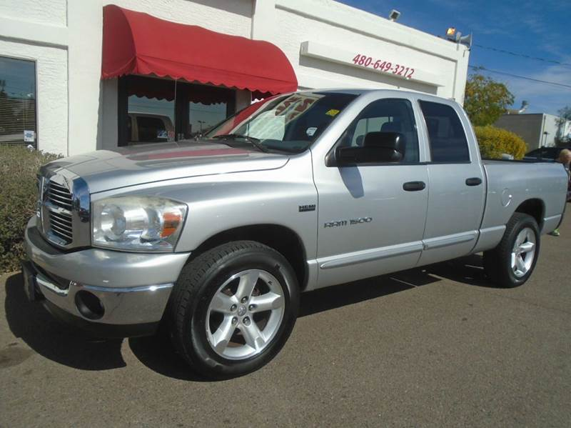 2007 dodge ram pickup 1500 slt 4dr quad cab sb in mesa az brown brothers automotive. Black Bedroom Furniture Sets. Home Design Ideas