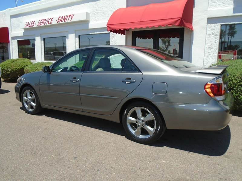 2006 toyota camry se v6 4dr sedan in mesa az brown. Black Bedroom Furniture Sets. Home Design Ideas