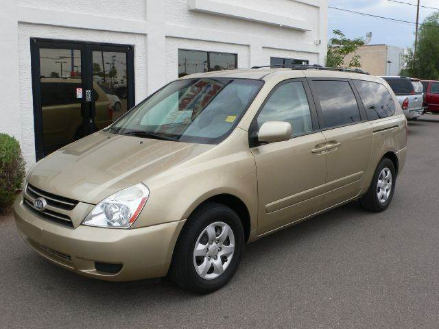 2006 KIA SEDONA LX sunset gold abs brakesair conditioningamfm radioanti-brake system 4-wheel