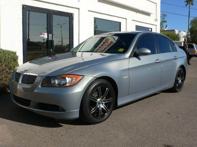 2006 BMW 3 SERIES 325I SEDAN green abs brakesair conditioningalloy wheelsamfm radioanti-brake