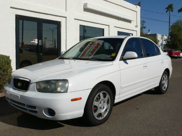 2003 HYUNDAI ELANTRA GLS white air conditioningamfm radioanti-brake system non-abs  4-wheel a