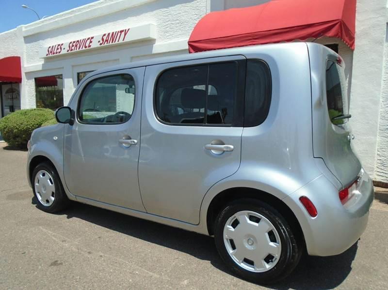 2009 nissan cube 1 8 s 4dr wagon cvt in mesa az brown. Black Bedroom Furniture Sets. Home Design Ideas
