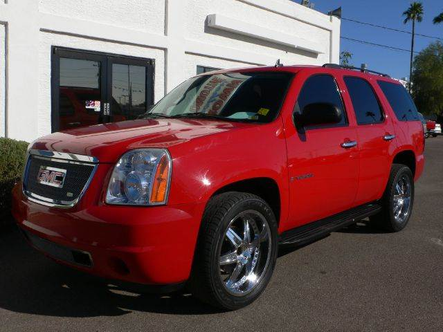 2008 GMC YUKON SLE-2 2WD red abs brakesair conditioningalloy wheelsamfm radioanti-brake syste