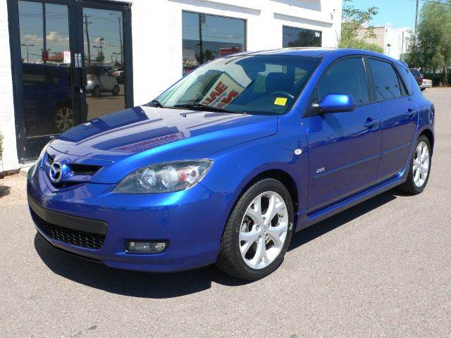 2008 MAZDA 3 S SPORT 5-DOOR aurora blue mica abs brakesair conditioningalloy wheelsamfm radio