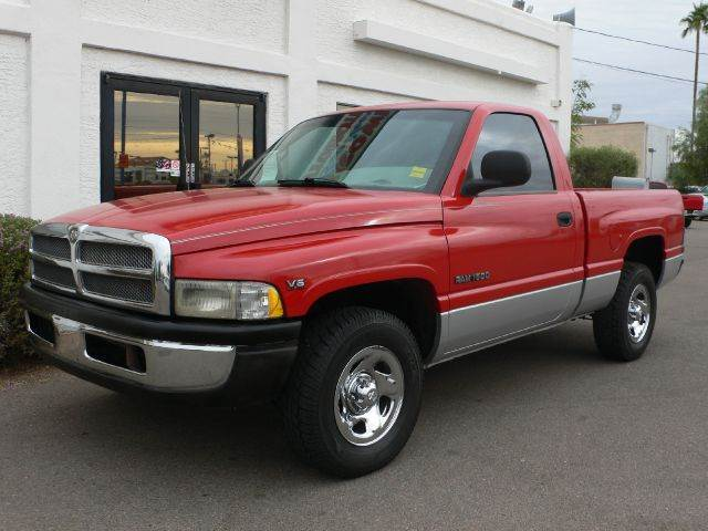 2001 DODGE RAM 1500 REG CAB SHORT BED 2WD red abs brakesamfm radioanti-brake system 2-wheel a