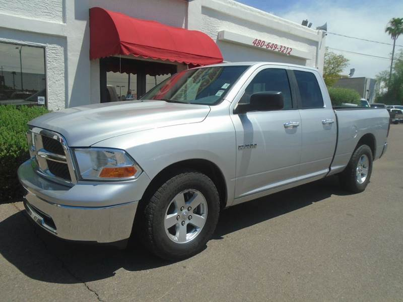 2010 dodge ram pickup 1500 slt 4x2 4dr quad cab 6 3 ft sb pickup in mesa az brown brothers. Black Bedroom Furniture Sets. Home Design Ideas
