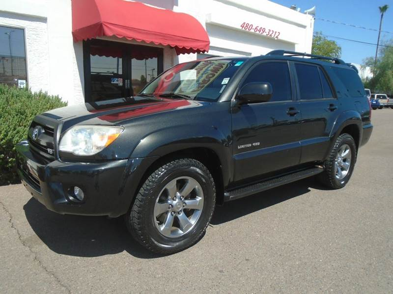 2006 Toyota 4runner Limited 4dr Suv 4wd W V8 In Mesa Az