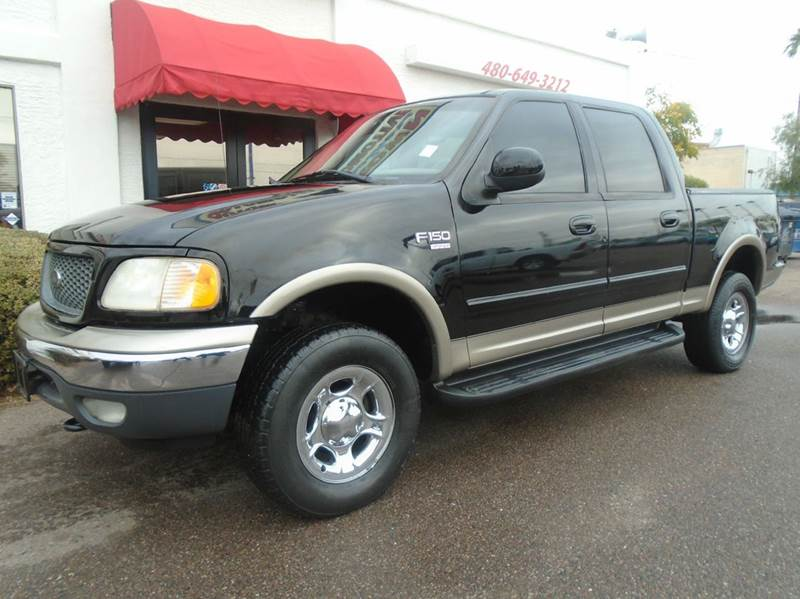 2001 Ford F 150 Lariat 4dr Supercrew 4wd Styleside Sb In