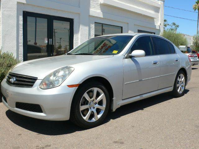 2006 INFINITI G35 SEDAN silver abs brakesair conditioningalloy wheelsamfm radioanti-brake sys