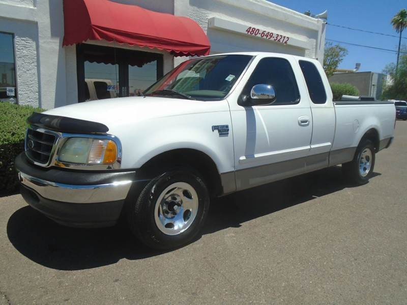 2002 ford f 150 4dr supercab xlt 2wd styleside sb in mesa az brown brothers automotive. Black Bedroom Furniture Sets. Home Design Ideas