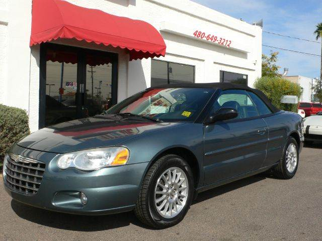 2006 CHRYSLER SEBRING TOURING CONVERTIBLE lt blue air conditioningalloy wheelsamfm radioanti-