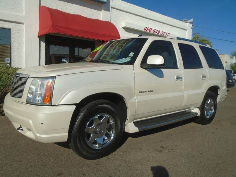 2004 cadillac escalade base awd 4dr suv in mesa az brown brothers. Cars Review. Best American Auto & Cars Review