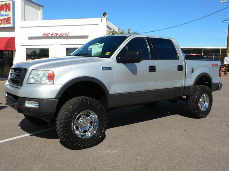 2004 ford f 150 fx4 4dr supercrew 4wd styleside 5 5 ft sb in mesa az brown brothers automotive. Black Bedroom Furniture Sets. Home Design Ideas