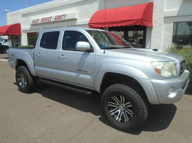 2005 toyota tacoma 4dr double cab prerunner v6 rwd sb in mesa az brown brothers automotive. Black Bedroom Furniture Sets. Home Design Ideas