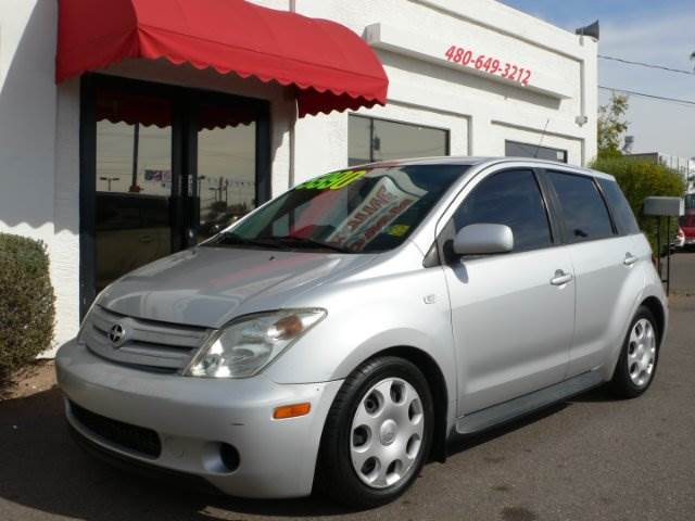2005 SCION XA HATCHBACK silver abs brakesair conditioningamfm radioanti-brake system 4-wheel