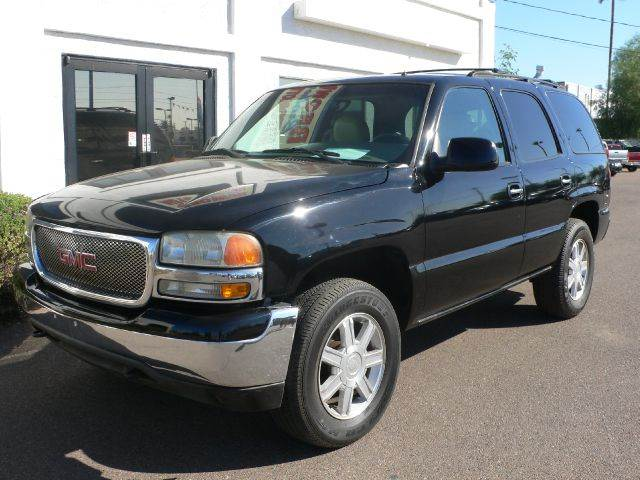2002 GMC YUKON 4WD black 4wdawdabs brakesair conditioningalloy wheelsamfm radioanti-brake s