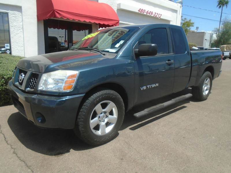 2007 nissan titan xe 4dr king cab sb in mesa az brown brothers automotive. Black Bedroom Furniture Sets. Home Design Ideas