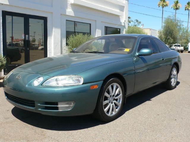 1995 LEXUS SC 300 SC 300 green abs brakesair conditioningalloy wheelsanti-brake system 4-wheel