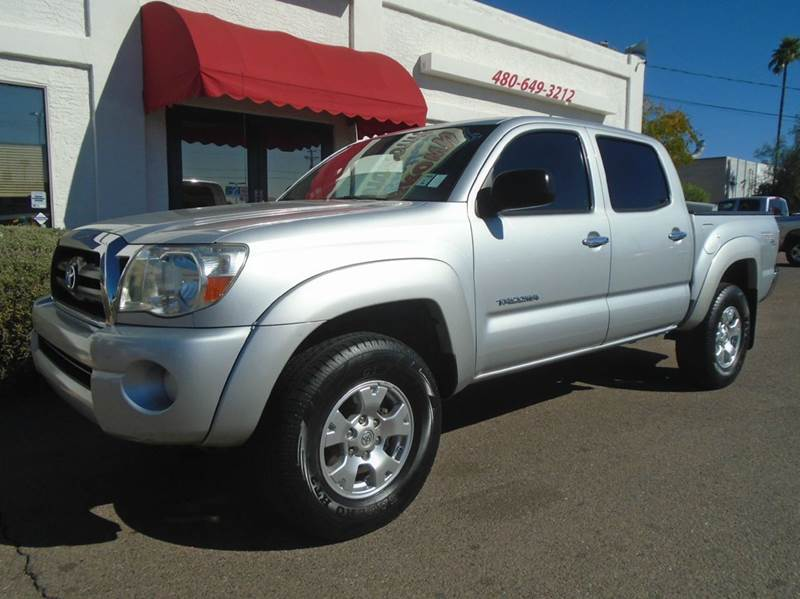 2008 toyota tacoma prerunner v6 4x2 4dr double cab 5 0 ft sb 5a in mesa az brown brothers. Black Bedroom Furniture Sets. Home Design Ideas