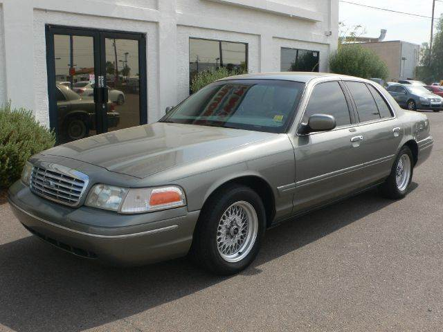 2001 FORD CROWN VICTORIA LX gray air conditioningamfm radioanti-brake system non-abs  4-wheel