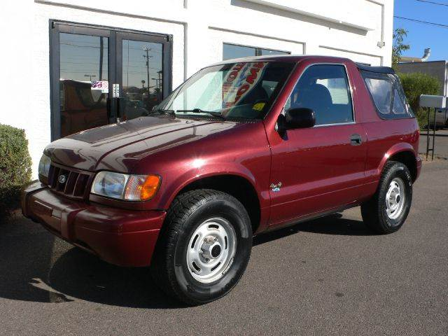 2002 KIA SPORTAGE 2-DOOR 4WD red 4wdawdanti-brake system non-abs  4-wheel absbody style spor