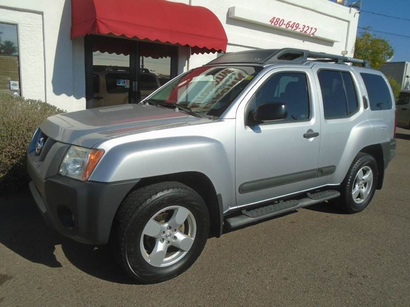 2006 nissan xterra se 4dr suv 4wd in mesa az brown. Black Bedroom Furniture Sets. Home Design Ideas