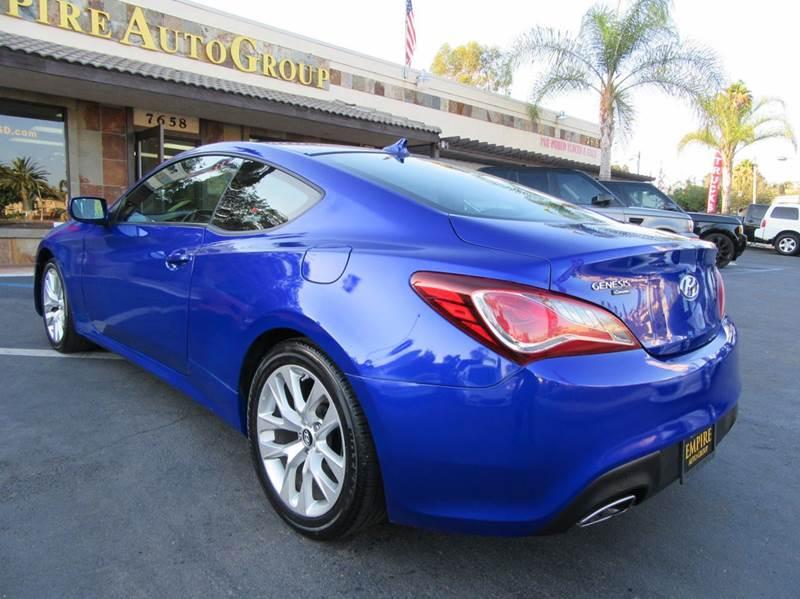 2013 Hyundai Genesis Coupe 2.0T 2dr Coupe - La Mesa CA