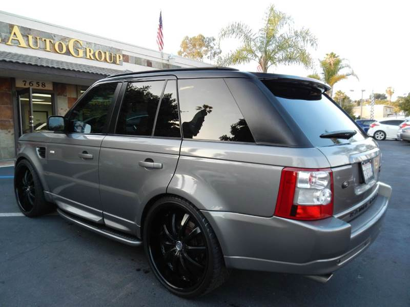 2009 Land Rover Range Rover Sport Supercharged 4x4 4dr SUV - La Mesa CA