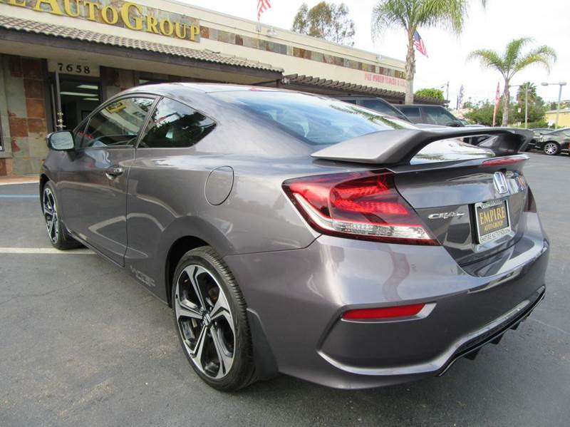 2015 Honda Civic Si w/Summer Tires 2dr Coupe Tires - La Mesa CA