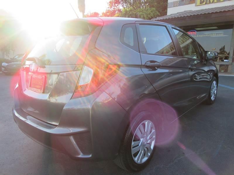 2015 Honda Fit LX 4dr Hatchback CVT - La Mesa CA
