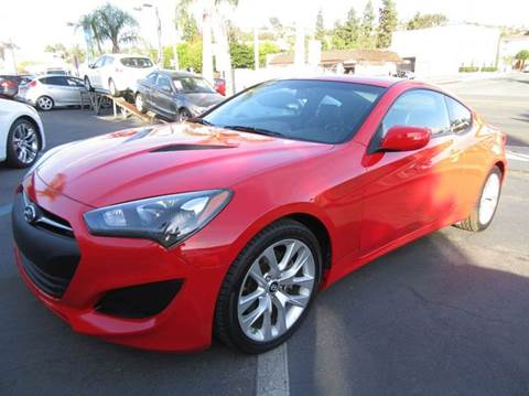 2013 Hyundai Genesis Coupe For Sale In La Mesa, CA